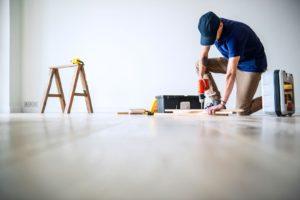 Fußboden Reparatur
